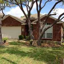 Rental info for $2500 3 bedroom House in North San Antonio Other N San Antonio in the San Antonio area