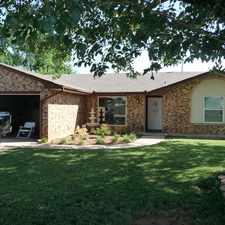 Rental info for 6217 NW Cheyenne, Lawton