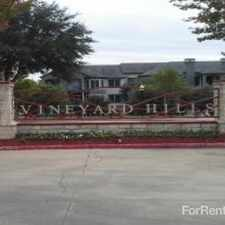 Rental info for Vineyard Hills