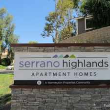 Rental info for Serrano Highlands