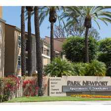 Rental info for Park Newport