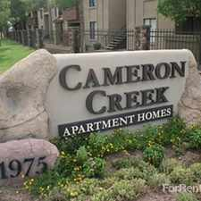 Rental info for Cameron Creek Apartment Homes
