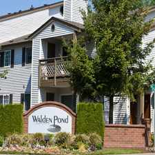 Rental info for Walden Pond