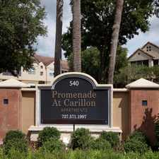 Rental info for Promenade at Carillon