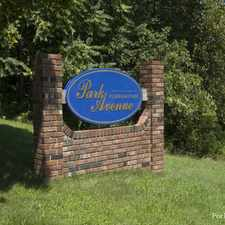 Rental info for Park Avenue at Florham Park