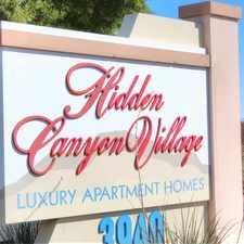 Rental info for Hidden Canyon Village