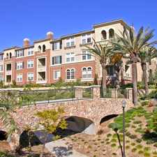 Rental info for Portofino Apartment Homes in the Serra Mesa area
