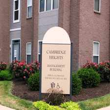 Rental info for Cambridge Heights