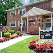 Rental info for Roberts Mill Apartments and Townhomes in the Philadelphia area