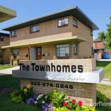 Rental info for The Townhomes at Two Creeks