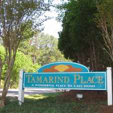 Rental info for Tamarind Place Apartments