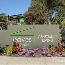 Rental info for eaves Seal Beach