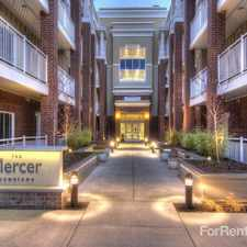 Rental info for The Mercer