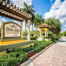 Rental info for Park Aire