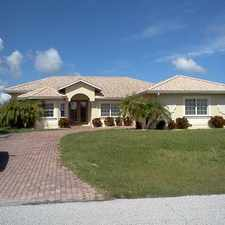 Rental info for Newer 3/2 POOL home on Gulf access canal