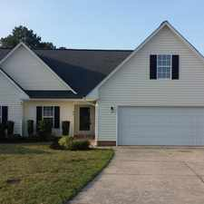 Rental info for Gorgeous 3BD/2BA ranch home w/ 2 car garage in Angier - convenient to I-40!