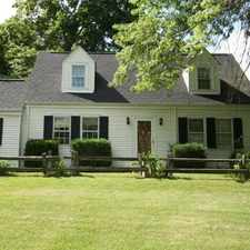 Rental info for SOUTH POINT (MCMURRAY) 4 BEDROOM 2BA CAPE COD ON 2 ACRES - GARAGE, LAUNDRY, CENTRAL A/C, STAINLESS STEEL
