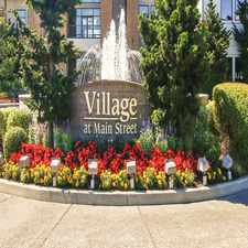 Rental info for Village at Main Street