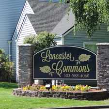 Rental info for Lancaster Commons
