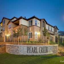 Rental info for Pearl Creek Apartments