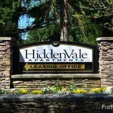 Rental info for Hidden Vale in the South Tacoma area