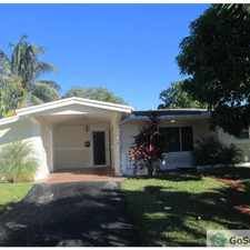 Rental info for BEAUTIFUL HOME COMPLETELY REMODELED in the Fort Lauderdale area