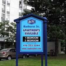 Rental info for Bathurst and Steeles: 6171 Bathurst Street, 1BR in the Westminster-Branson area