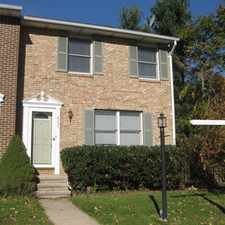 Rental info for NICE END UNIT TOWNHOME