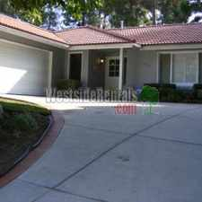 Rental info for PORTER RANCH POOL HOME NORTH OF RINALDI in the Porter Ranch area