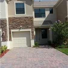Rental info for Brand New Townhome @ Portofino, Meadow Woods 32824 in the Orlando area