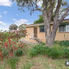 Rental info for AFFORDABLE ONE BEDROOM in the Canberra area