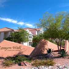 Rental info for Canyon Walky Apartments