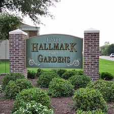 Rental info for Hallmark Gardens Apartments