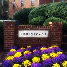 Rental info for The Crossroads in the Charlottesville area