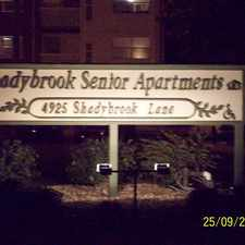 Rental info for Shadybrook Estates Senior Apts