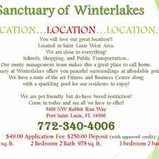 Rental info for Sanctuary at Winterlakes