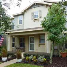 Rental info for Avalon Park Townhome with hardwood floors, 2 car garage and 2 community swimming pools