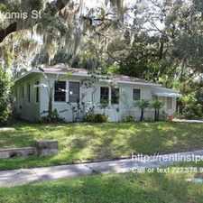 Rental info for Restored 3/1 Home in Quiet Clearwater Neighborhood