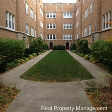 Rental info for Beautiful 2 Br, 1 Ba Condo in Evanston PARKING INCLUDED!