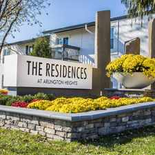 Rental info for Residences at Arlington Heights