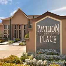 Rental info for IMT Pavilion Place in the Gulfton area