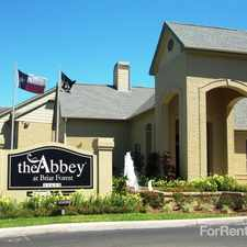 Rental info for Abbey at Briar Forest