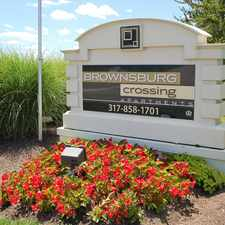 Rental info for Brownsburg Crossing