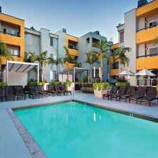 Rental info for The Crescent at West Hollywood in the Los Angeles area