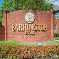 Rental info for Barrington Estates
