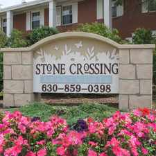 Rental info for Stone Crossing Apartments in the North Aurora area