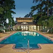 Rental info for Point at Cypress Woods, The in the Houston area