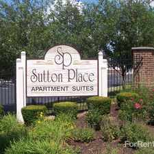 Rental info for Sutton Place Rental Community in the Crest Hill area