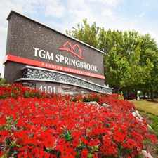Rental info for TGM Springbrook Apartments