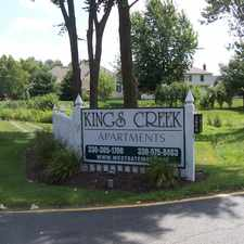 Rental info for Kings Creek